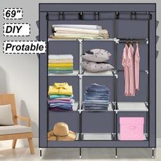 pantshanger, Closet, portablecloset, Shelf