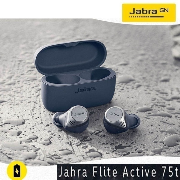 2020 High Quality Jabra Elite 75t Earbuds True Wireless Earbuds With Charging Case For The Best True Wireless Calls And Music Experience 6 Color Wish
