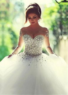 gowns, sweetheart, Ball, Bridal
