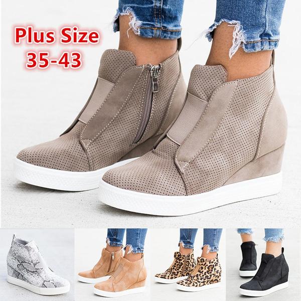 Fashion Women Platform Sneakers Hidden