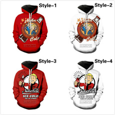 fallouthoodie, 3D hoodies, Video Games, Plus Size
