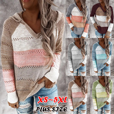 Plus Size, sweaters for women, Manga, Long Sleeve