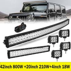 curvedledlightbar, leddrivinglamp, lights, carlightbar