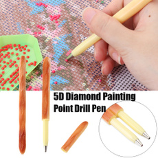 Bread 5D Diamond Painting Point Drill Pen Cross Stitch Sewing Accessories DIY