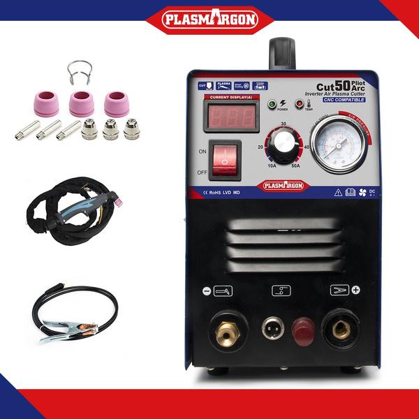 50A Plasma Cutter Pilot Arc CNC Compatible Plasma Cutting /& Accessoires IN US