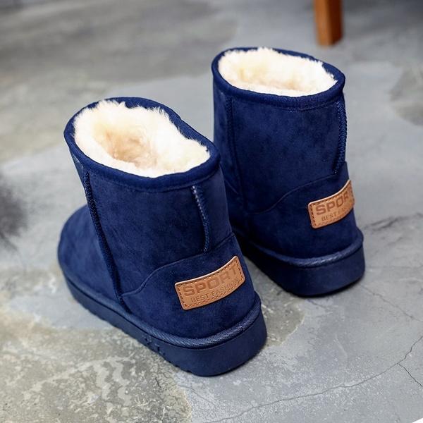 Snow Shoes Flat Bottom Cotton Shoes