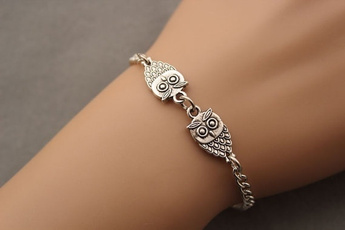 Love Bracelet, mensfashioncuteowlloverjewelry, Birthday Gift, Fashion Jewelry