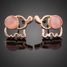 elephantearring, gold plated earrings, gold, fahionjewelry