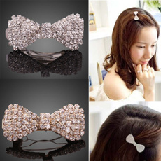 bowknot, Bling, hairornament, Jewelry