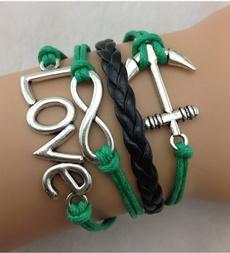 Charm Bracelet, infinitylovebraceletanchorbracelet, Fashion, Love