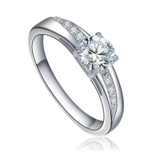 Cubic Zirconia, Valentines Gifts, wedding ring, Engagement Ring