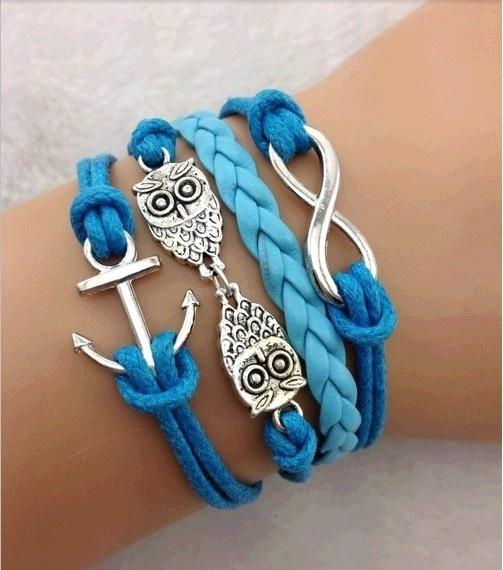 Blues, Infinity, Jewelry, Bracelet