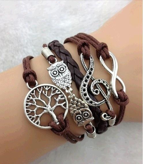 Antique, Infinity, Jewelry, Bracelet