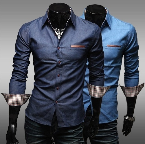 Pocket, Designers, Shirt, Long Sleeve