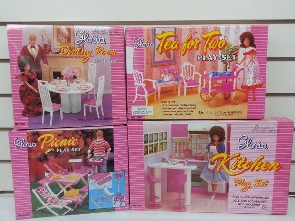 Dolls House Tea Set Ref:229B//229W