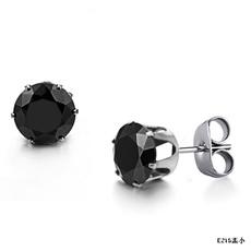 Jewelry, coolstudearring, titanium, Stainless Steel