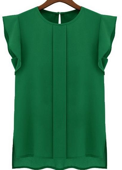blouse, loose shirt, Tops, Chiffon Shirt