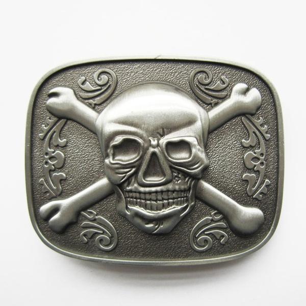 Fashion Accessory, Leather belt, skull, Vintage