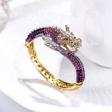 Crystal Bracelet, trending, Bold, purple
