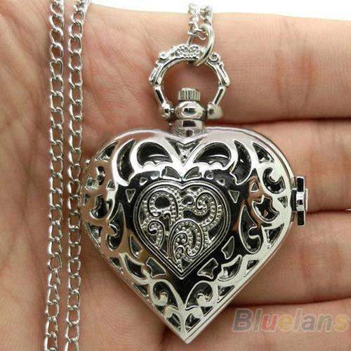 Stylish Necklace, heartshapedwatch, Jewelry, Chain