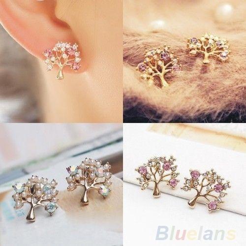 Fashion, Jewelry, Stud Earring, purple