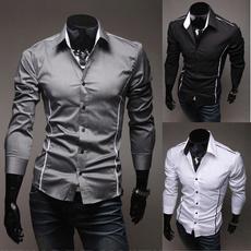 shirts for men, Chiffon Shirt, Shirt, Sleeve
