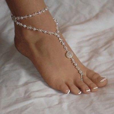 Sandals, Anklets, Chain, Chain bracelet
