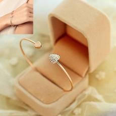 Charm Bracelet, Heart, Love, Jewelry