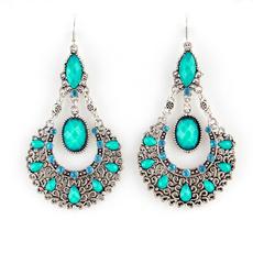 bigroundearringsforwomen, Dangle Earring, vintage earrings, antiqueearring