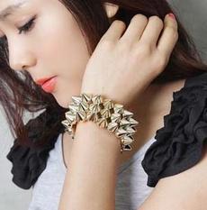 infinity bracelet, punkgothicbracelet, strandbracelet, Jewelry
