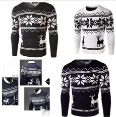 Fashion, pulloverjumper, Christmas, Casual sweater