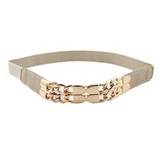 ladies fashion belts, cuffbelt, Elastic, gold