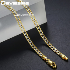 cubanchainnecklace, Chain Necklace, Chain, gold