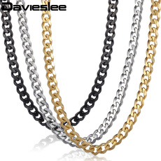cubanchainnecklace, Steel, Chain Necklace, necklaces for men
