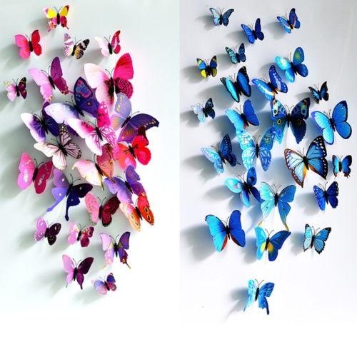 butterfly, decalwallart, art, Home Decor