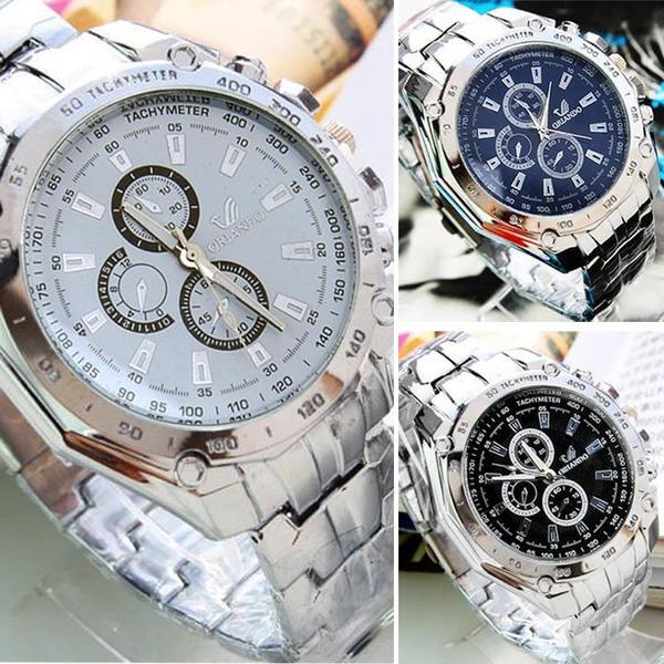 Steel, Stainless, Fashion Accessory, quartz watch