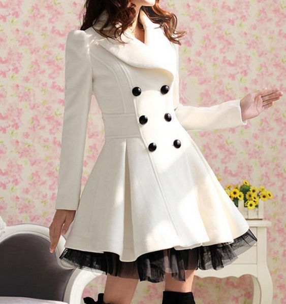 woolen, woolen coat, womens dresses, womenwhitedresscoat