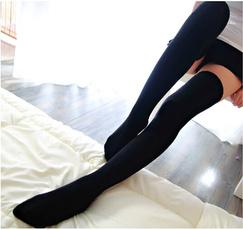 Clothing & Accessories, Leggings, Cotton Socks, kneehighsock