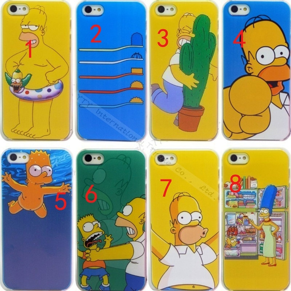 HE:Painting Cover Creative Design For iPhone5 iPhone5S Case Simpson Homer Simpsons Phone Cases Covers For iPhone 5 5S Shell& LLS | Wish
