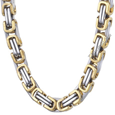 Steel, mens necklaces, Chain Necklace, Stainless Steel