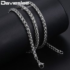 Steel, mensnecklacechain, Stainless Steel, mens necklaces
