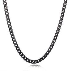 Steel, chainnecklaceformen, Stainless Steel, Jewelry