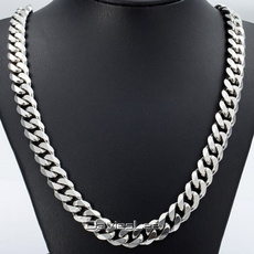 Steel, mensnecklacechain, Jewelry, Chain