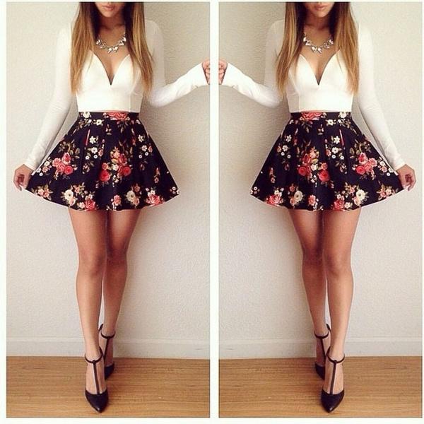 Long Sleeve, Evening Dress, Dress, V-neck