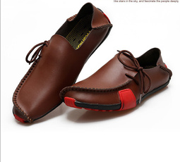 casual shoes, Ballerinas, leather shoes, genuine leather