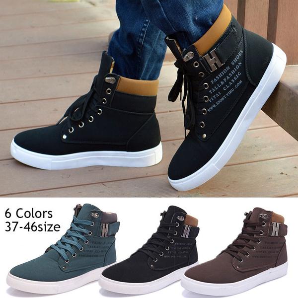 Fashion Mens Korean Style Sneakers