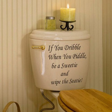 Bathroom, toiletseatsticker, toliet, Stickers