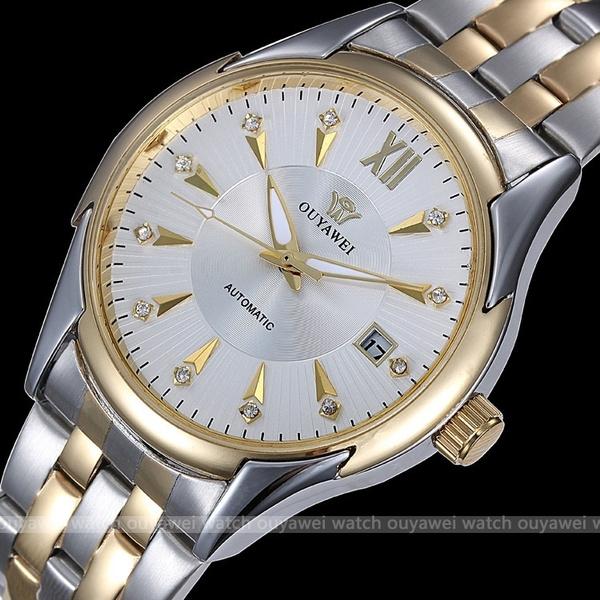 Gifts, diamantes, Watch, mecanicoautomatico