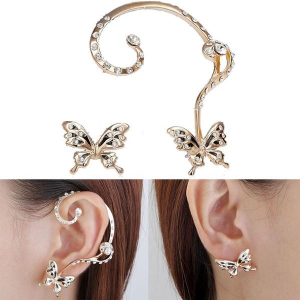 Dangle Earring, butterflyearstud, Gifts, Stud Earring