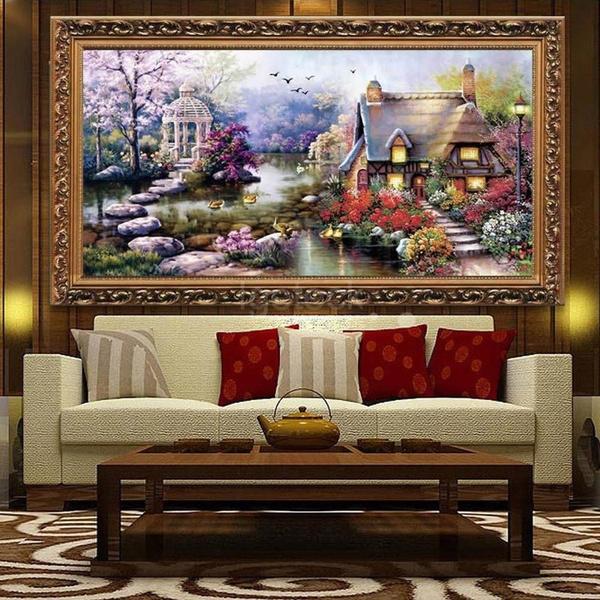 crossstitch, decoration, handicraft, Home Decor